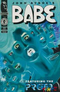 Babe #4 VF/NM; Dark Horse | save on shipping - details inside