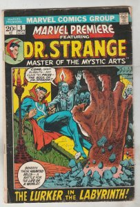 Marvel Premier #5 (Nov-72) VG+ Affordable-Grade Dr. Strange