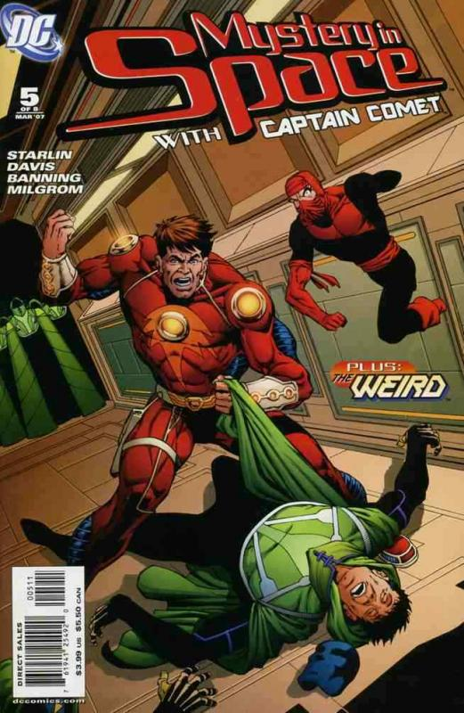 MYSTERY IN SPACE (2006 DC) #5 NM- A94589