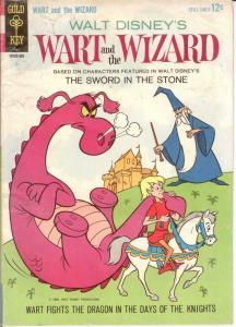 WART & THE WIZARD (1964 GOLD KEY) 1 VG  1963 COMICS BOOK