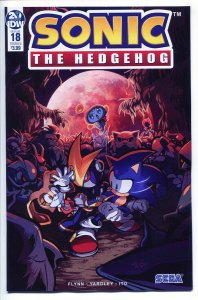 SONIC THE HEDGEHOG (2018 IDW) #18 VARIANT CVR B SKELLY NM