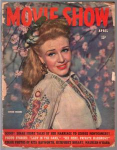 Movie Show 4/1944-Ginger Rogers-Shirley Temple-John Wayne-FR