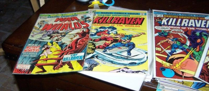 Amazing Adventures #21 29* 30 32 39  ( 1973, Marvel) killraven