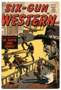 Six-Gun Western #3 1957-Atlas Western-Joe Maneely- FN-