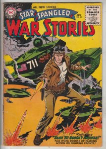 Star Spangled War Stories #44 (Apr-56) FN/VF Mid-High-Grade One-Man Navy
