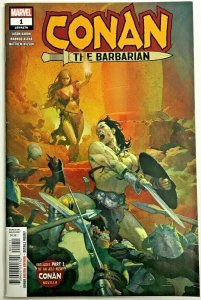 CONAN THE BARBARIAN#1 VF/NM 2019 MARVEL COMICS