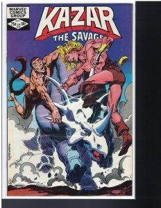 Ka-Zar #14 (Marvel, 1982)