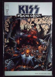 Kiss: Psycho Circus #21 (1999)