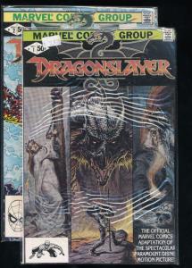 Dragonslayer #1-2 (Marvel 1982) VF (HX99)
