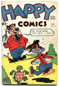 Happy Comics #31 1949 Frazetta- Golden Age Funny Animals VG
