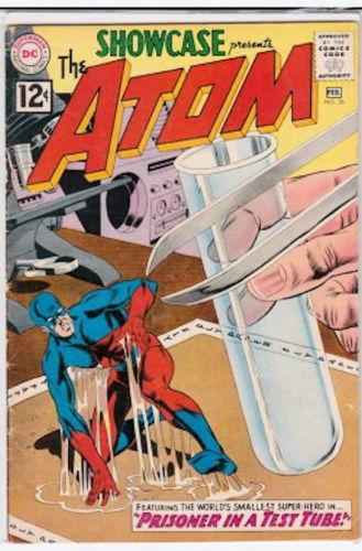 Showcase #36 (Jan-Feb 1962, DC) 3rd appearance of the Atom! Fine+ Free Shipping