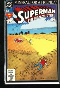 Superman: The Man of Steel #21 (1993)