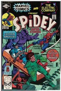 SPIDEY SUPER STORIES 51 VG-F  Mar. 1981