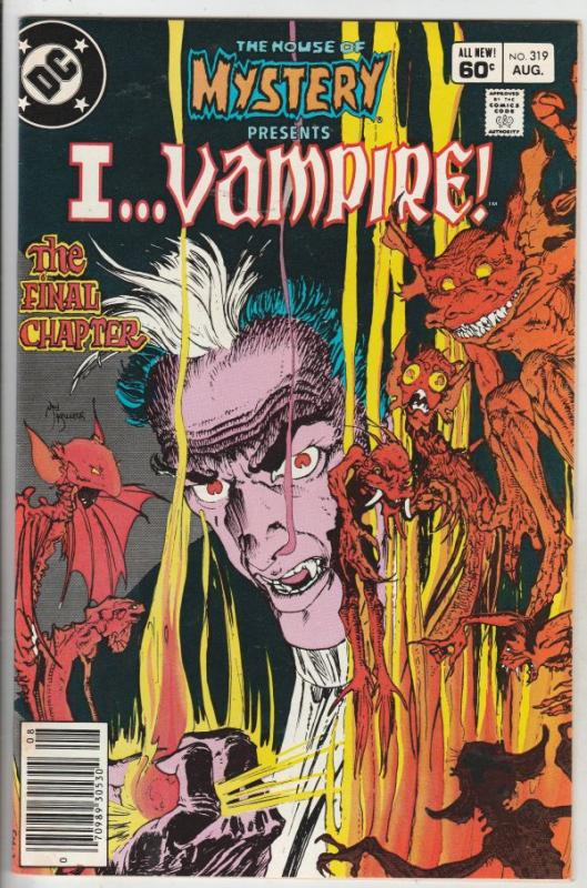 House of Mystery #319 (Aug-83) VF/NM High-Grade I Vampire