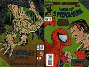 Web of Spider-Man, The #117SC VF/NM; Marvel | save on shipping - details inside