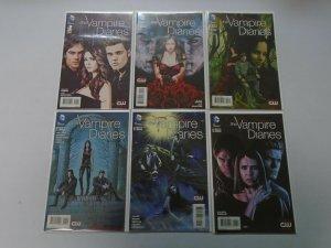 Vampire Diaries set #1-6 NM (2013)