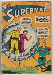Superman #121 (May-58) GD/VG Affordable-Grade Superman, Jimmy Olsen,Lois Lane...