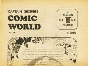 CAPTAIN GEORGES COMIC WORLD-REPRINTS-#14-MUTT N JEFF VG