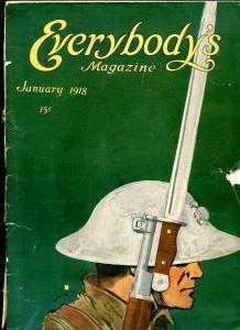 Everybody's Magazine January 1918- Jackson Gregory G