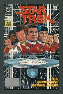 Star Trek #1  / 9.6 - 9.8 NM-MT  October 1989