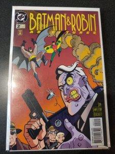 BATMAN & ROBIN ADVENTURES #2 TWO-FACE NM