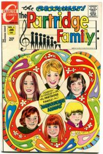 PARTRIDGE FAMILY #6 1971-CHARLTON TV COMIC FN/VF
