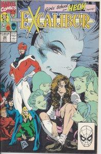 Excalibur #32 (Dec 1990) - X-Men spin-off group w/ Nightcrawler & Phoenix