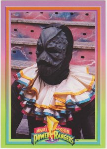 1994 Mighty Morphin Power Rangers #54 Putty Clown