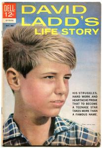 David Ladd's Life Story 1962- Dell Comic photo cover vg/f