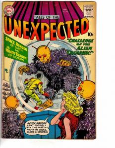 UNEXPECTED (TALES OF) 46 VERY GOOD February 1960