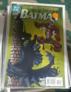 Batman #530 1996, DC COMICS   deadman connection NEWSSTAND VARIANT