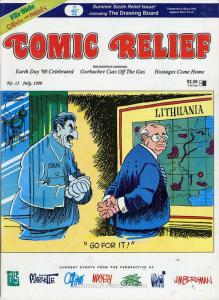Comic Relief (magazine) #13 FN; Page One | save on shipping - details inside