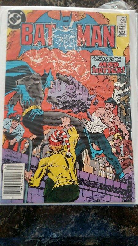BATMAN #379  (Jan, 1985, DC) NM