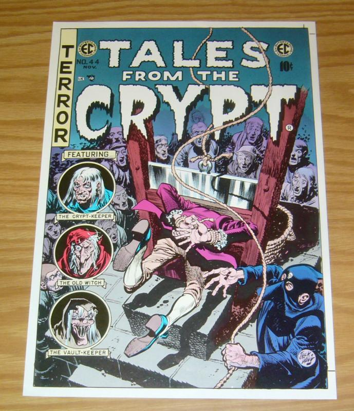 Tales From The Crypt #44 print/poster - jack davis - ec comics - approx 9 x 13