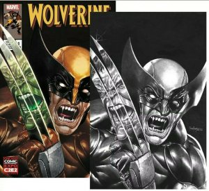 Wolverine #1 Exclusive Mico Suayan C2E2 Variant Marvel & B&W - AVAILABLE NOW!