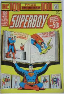 DC 100 PAGE SUPER SPECTACULAR #21 (DC) October, 1973 VERY GOOD SUPERBOY