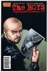 THE BOYS #10, NM+, Garth Ennis, Darick Robertson, 2006, more in store