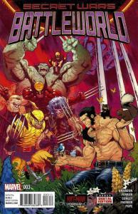 Secret Wars: Battleworld #3 VF/NM; Marvel   save on shipping - details inside
