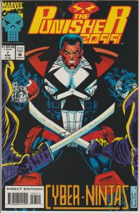 THE PUNISHER 2099 #7 - MARVEL - BAGGED & BOARDED