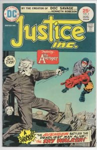 JUSTICE INC #2, FN, Jack Kirby, The SkyWalker, 1975, more in store