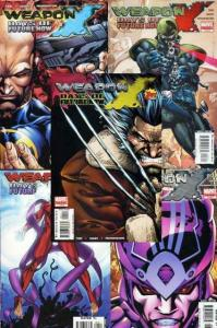 WEAPON X DAYS OF FUTURE NOW (2005) 1-5