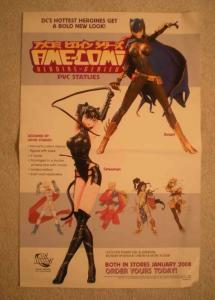 AME-COMI: HEROINE-SERIES Promo Poster, CATWOMAN, Unused, more in our store