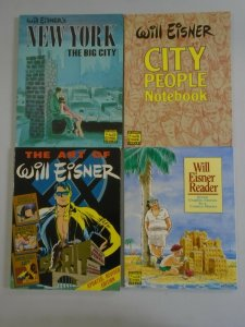 Lot of 8 different Will Eisner TPBs SC