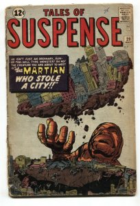 Tales Of Suspense #29 comic book 1961-marvel--kirby-ditko G-