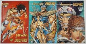 Avengelyne/Prophet #1-2 FN complete series + variant - rob liefeld set lot
