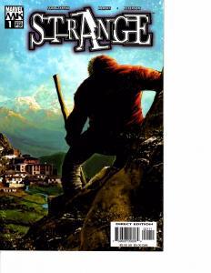 Lot Of 3 Strange Marvel Comic Book #1 2 3 AB3