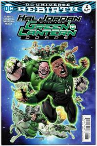 Hal Jordan and the Green Lantern Corps #2 Main Cvr (DC, 2016) VF/NM