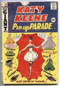 Katy Keene Pin-Up Parade #5 1959- Giant- paperdolls F/G