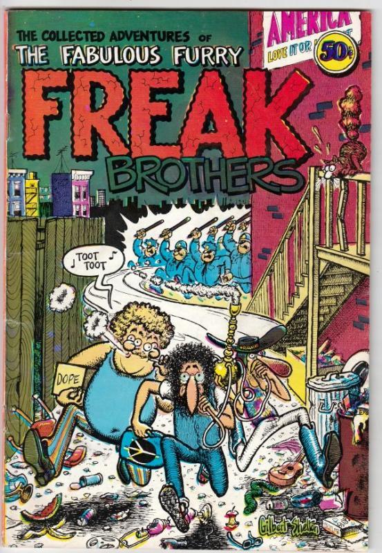 Fabulous Furry Freak Brothers #1 (Jan-71) FN/VF Mid-High-Grade The Freak Brot...