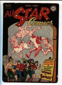 All Star Comics #30 comic book 1946 Justice Society  Wonder Woman vg+